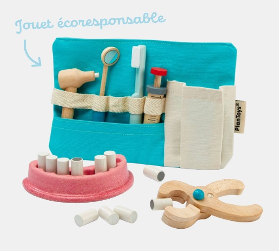 Plan toys set dentiste